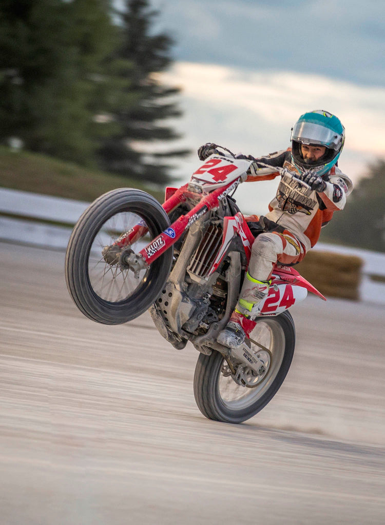 How To Ride Flat Track