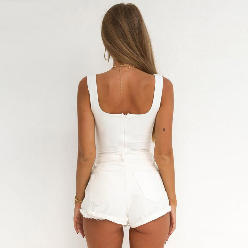 Contour Cut Out Bodysuit