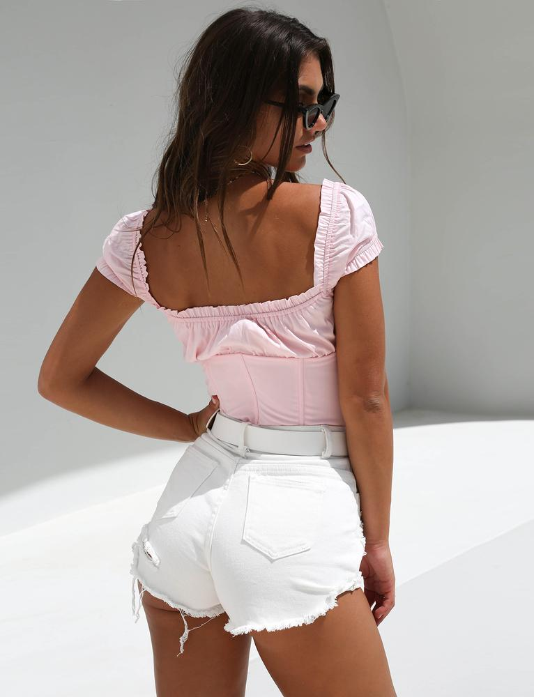 cute ruffle top