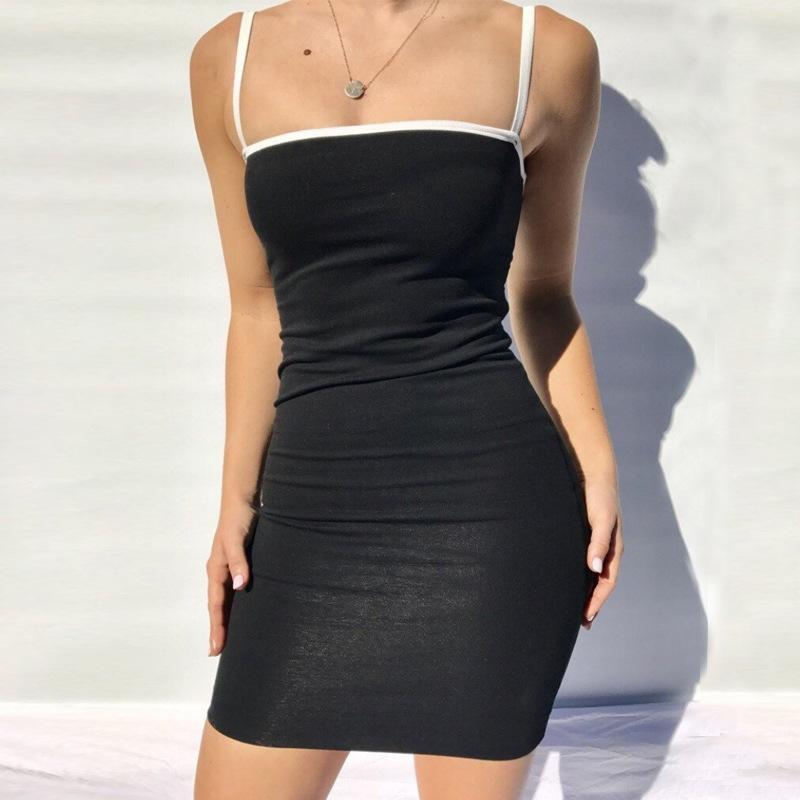 tight tank dress