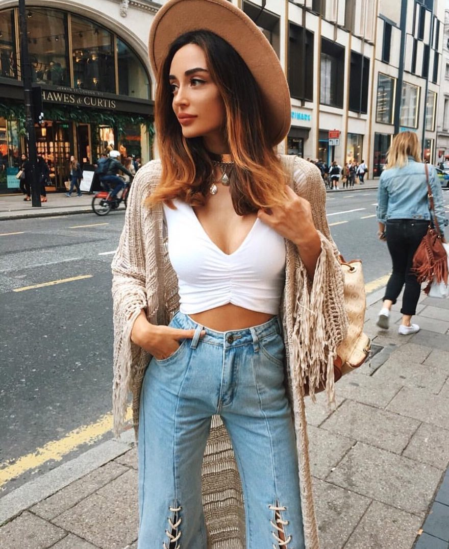 white ruched crop top