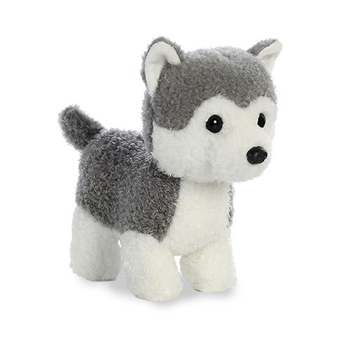 Lil Pup Husky Plush Animal