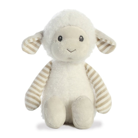 Liam the Lamb Rattle Plush Animal