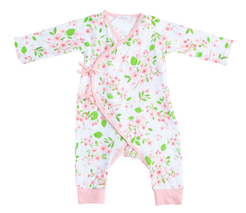 Cherry Blossom Wrap Coverall