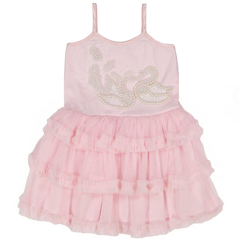Baby Girls Swan Tulle Dress