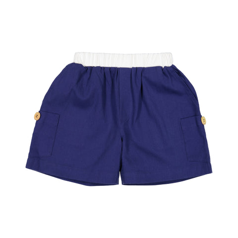 Baby Boys Navy Cargo Shorts