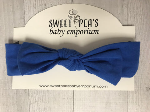 Knotted Knit Bow Headbands
