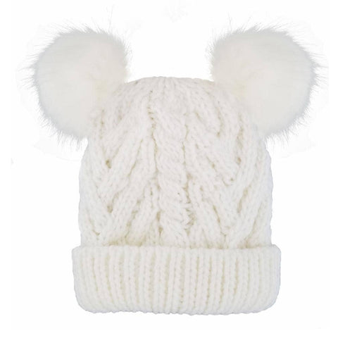 Beanie Winter White Fluffer