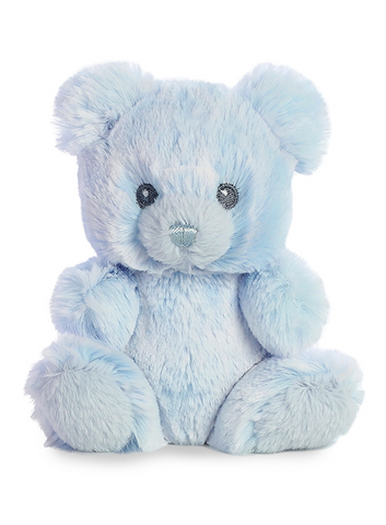 Lil Boy Bear Rattle Plush Animal