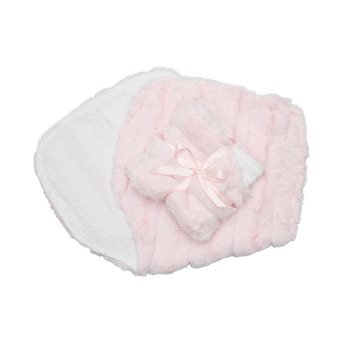 Burp Cloths Blush Carson
