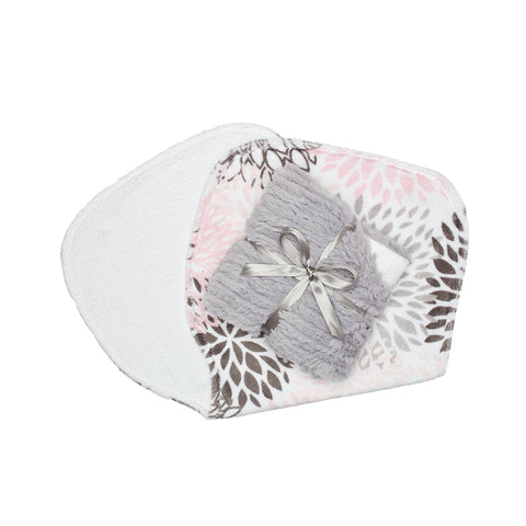 Burp Cloths Blush Blossom