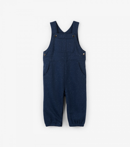 Navy Knit Overall