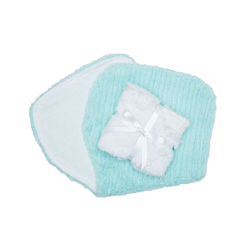Burp Cloths Aqua River