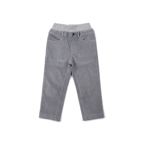The Perfect Gray Corduroy Pant