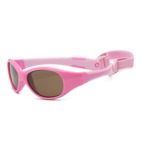 Sunglasses for Babies Pink Explorer Polarized
