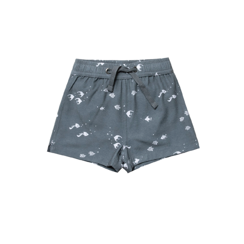 Angel Fish Swim Trunk