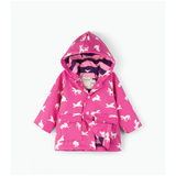 Baby Unicorn Silhouettes Color Changing Raincoat