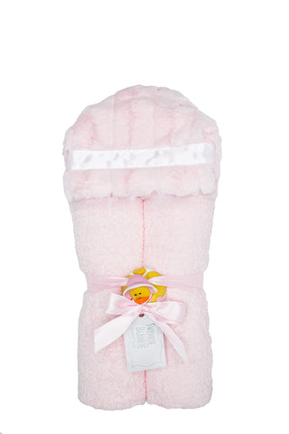 Hooded Towel Blush Carson