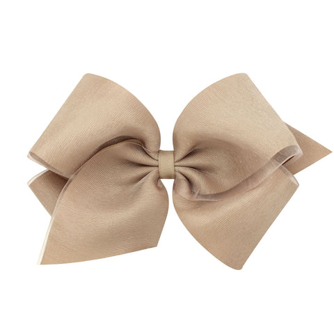 Clip-on Medium Organza Bows
