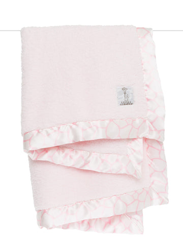 Receiving Blanket Pink Chenille