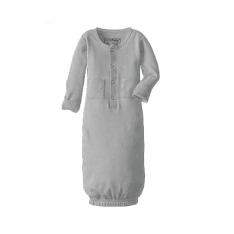 Light Gray Organic Gown