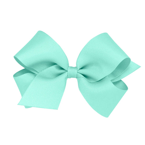 Clip-On Medium Grosgrain  Bows Plain Wrap