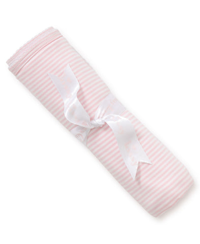 Pink Striped Swaddle