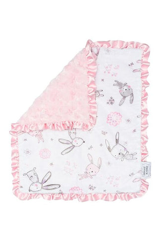 Security Blanket Pink Bunny