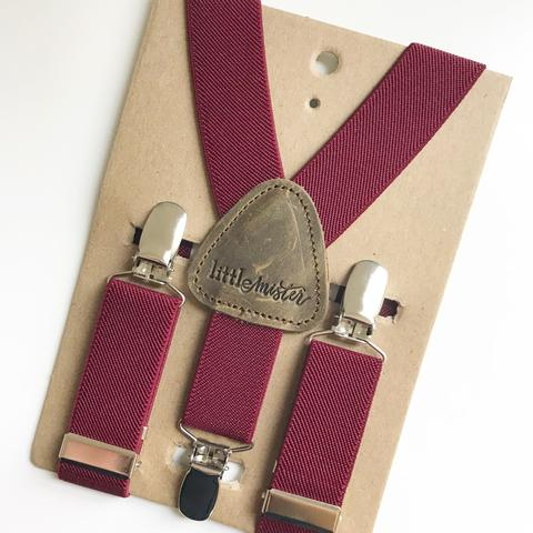 Cranberry Suspenders