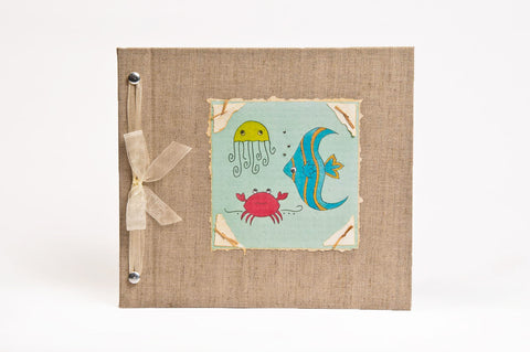 Under the Sea Baby Memory Book