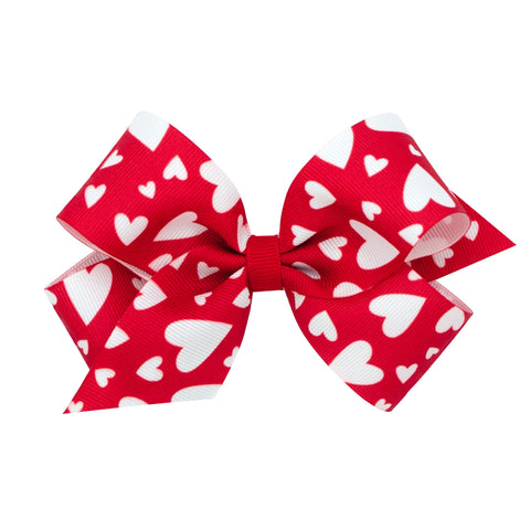 Medium Valentine Clip-on Bows