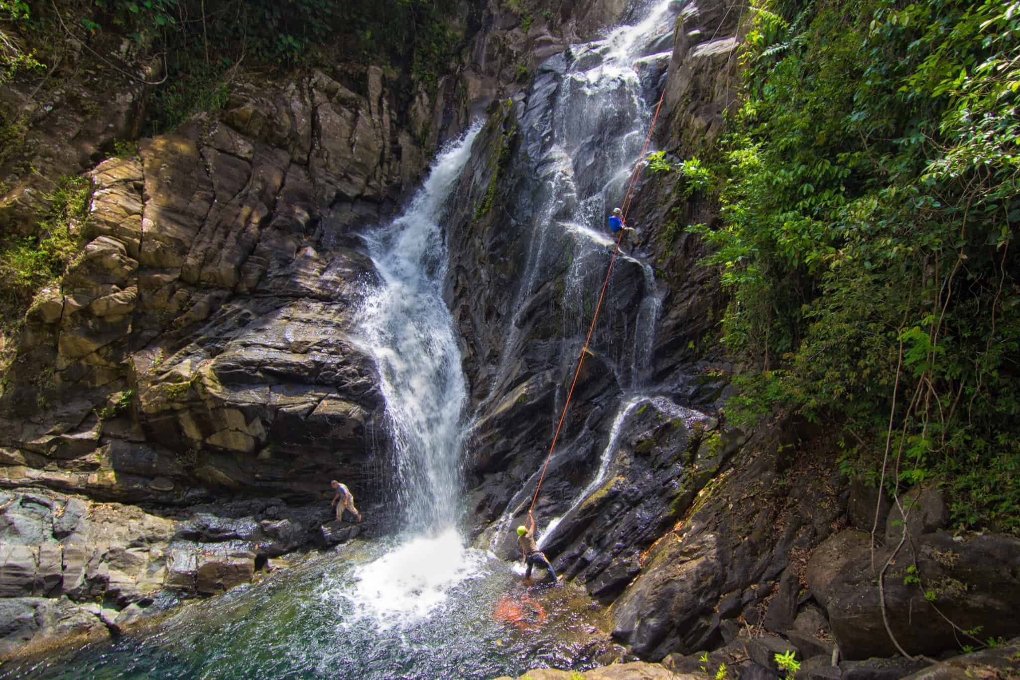 best Belize waterfalls, Antelope Falls