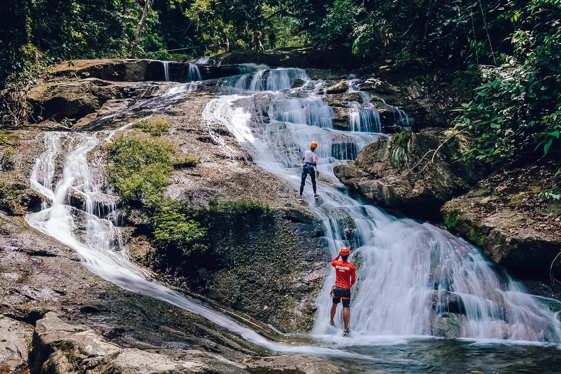 best Belize waterfalls, Bocawina Falls