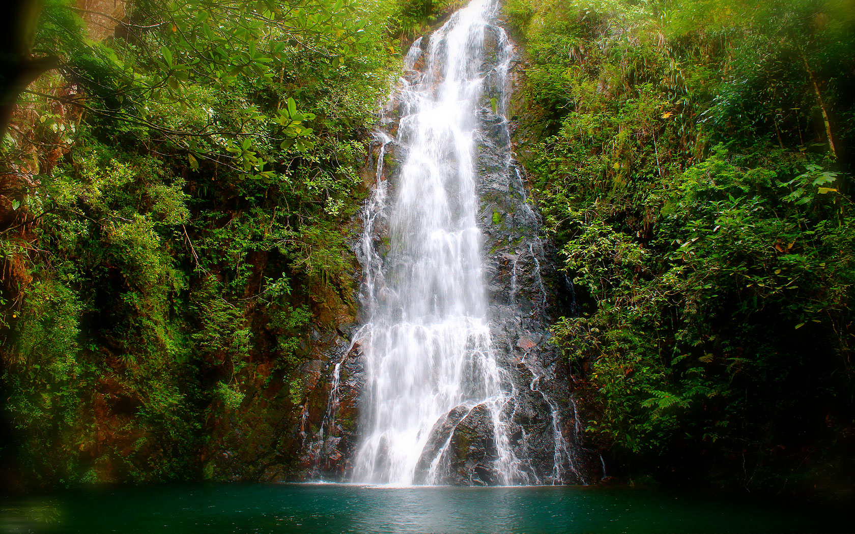 Butterfly Falls, Hidden Valley Inn, Belize