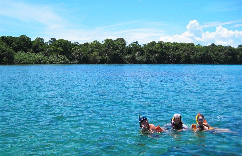 best snorkeling in Costa Rica, Cahuita