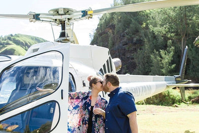 Rainforest Romance & Waterfall Helicopter Proposal