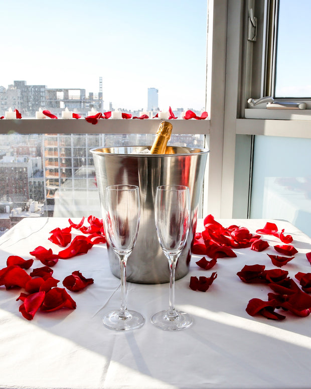 Romantic Hotel Room Proposal