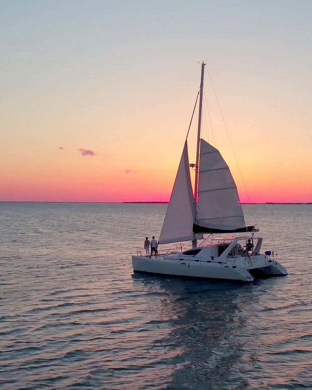 Luxurious Sunset Catamaran Sail Proposal