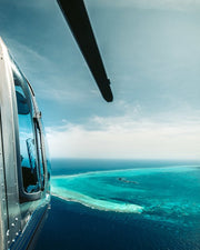 Breathtaking Great Blue Hole Helicopter Proposal