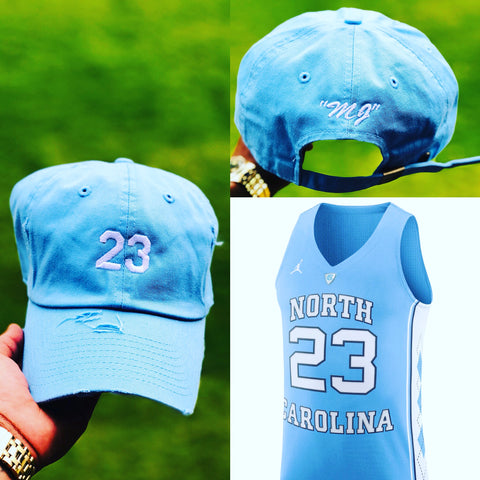 "Michael Jordan ""MJ"" Jersey Dad Cap"