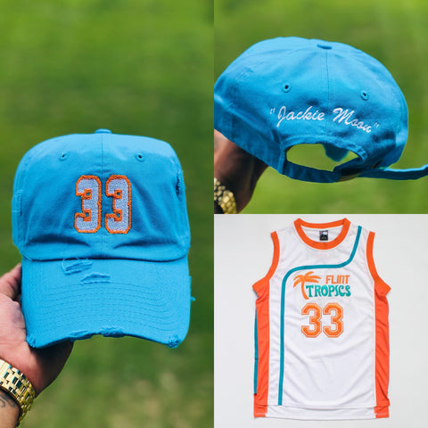 """Jackie Moon"" NBA Jersey Dad Cap"