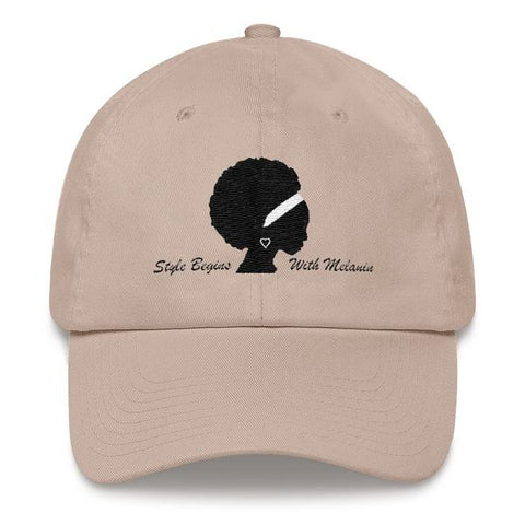 """Style starts with Melanin"" Dad Cap"