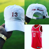 "James Harden  ""The Beard "" Jersey Dad Cap"