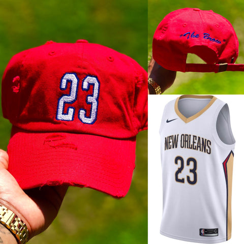 "Anthony Davis  ""The Brow "" Jersey Dad Cap"