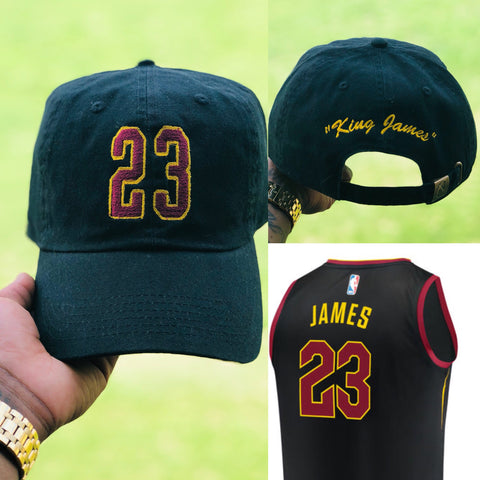 """finest selection 25455 2301b Lebron James """"King James"""" Jersey Dad Cap – Snafu Roots"""