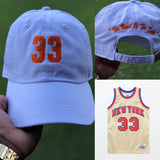 "Patrick Ewing ""The Beast from the East"" Jersey Dad Cap"