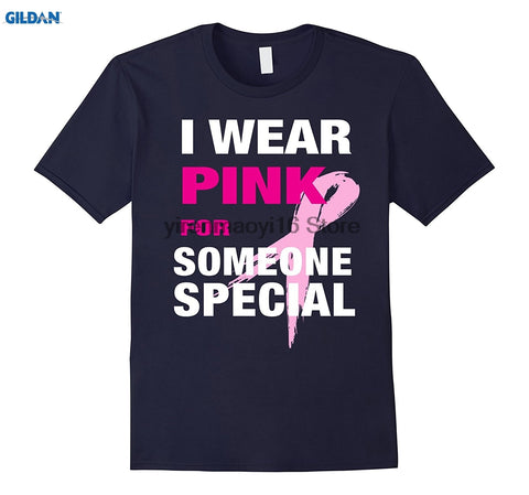 I Wear for Someone Special T-shirt Breast Cancer Awareness