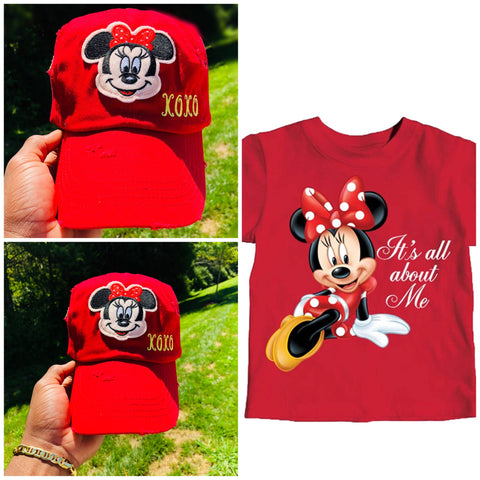 """Minnie Mouse"" Kids Cap"