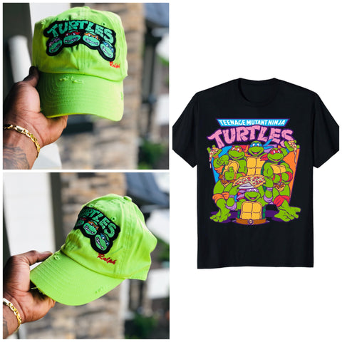 """ Ninja Turtles "" Kids Cap"