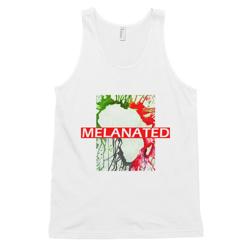 'Melanated' tank top (unisex)